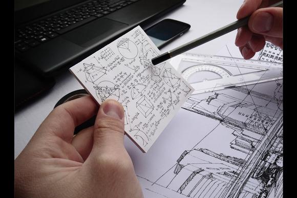 Sketchbook Paper Mock-Up