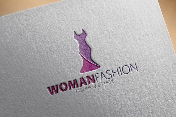 Woman Fashion Logo