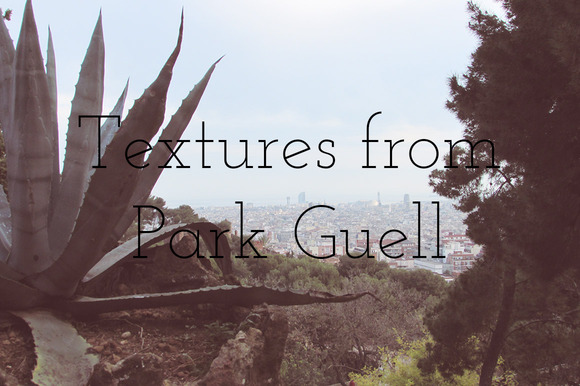 Textures From Park Guell Barcelona