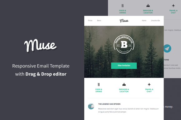 Muse Responsive Email Builder