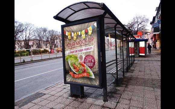 Bus Station Mock Up 5 1 Bonus