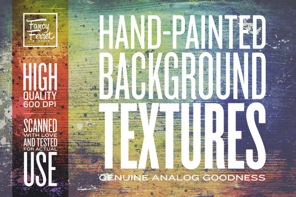 Hand-painted Background Textures
