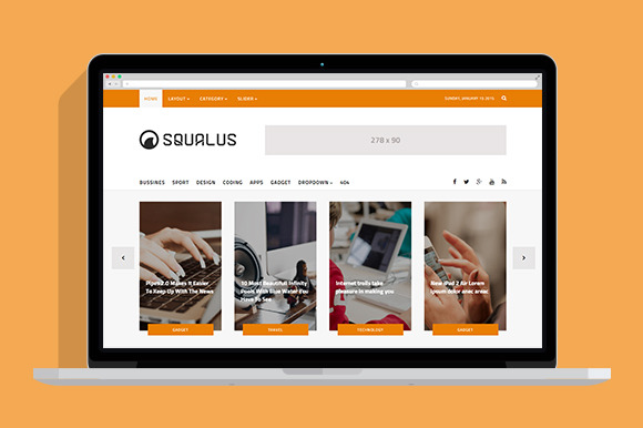 Squalus News Magz HTML5 Template