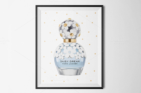 Daisy Dream Perfume Illustration