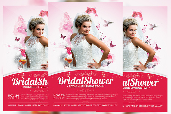 Bridal Shower Flyer