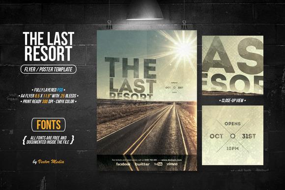 The Last Resort Flyer