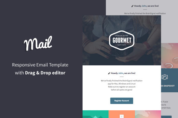 Mail Email Builder