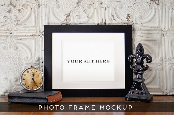 Realistic Photo Frame Art Mockup #1