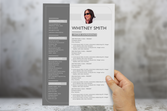 Modern 3 In 1 Resume Pack