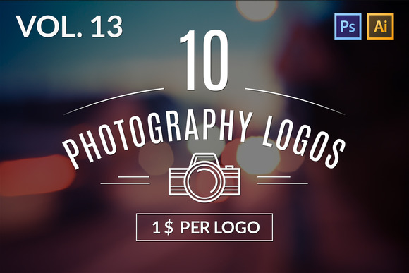 10 Photography Logos Vol 13