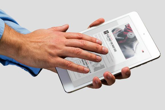 PAD Tablet Mockup Photorealistic