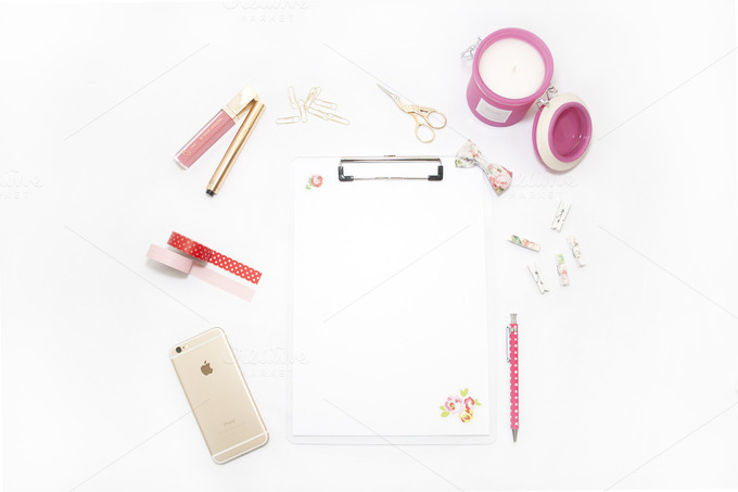 Styled Stock Photography Clipboard