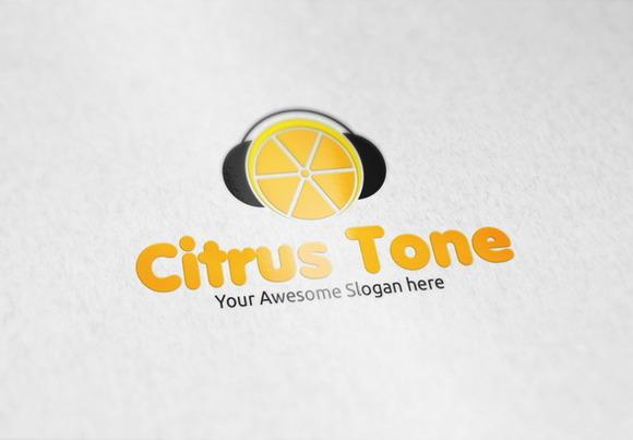Citrus Tone Logo Template