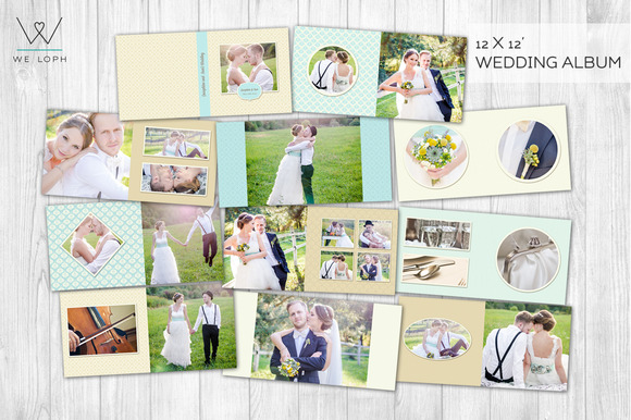 Creative Wedding Album