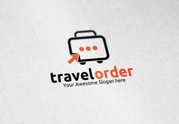 Travel Order Logo Template