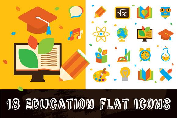 18 Education Icons