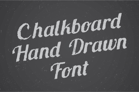 Chalkboard Hand Drawn Font