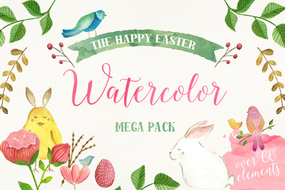 The Happy Easter Mega Pack