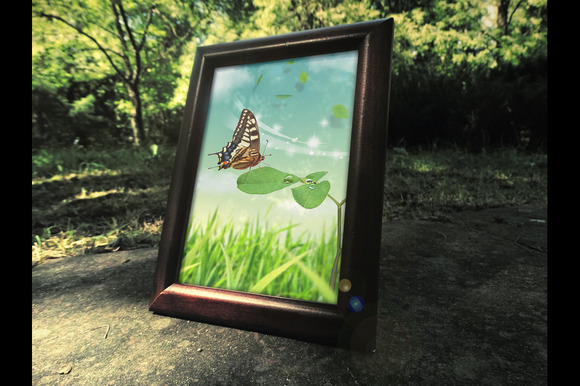 Photorealistic Frame Mock Up