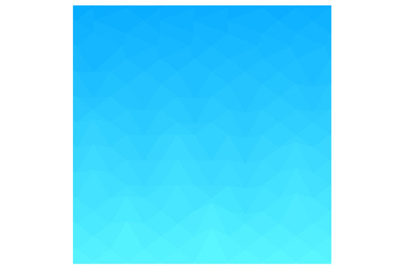 Blue Sky Abstract Low Polygon Backgr