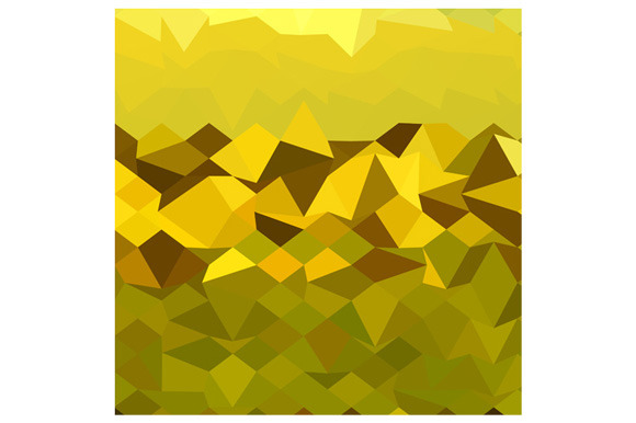 Mountain Abstract Low Polygon Backgr