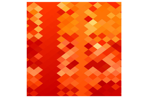 Red Weave Abstract Low Polygon Backg