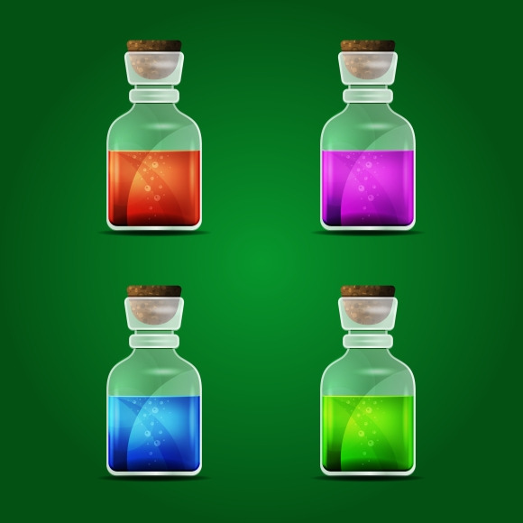 Vector Magic Potion