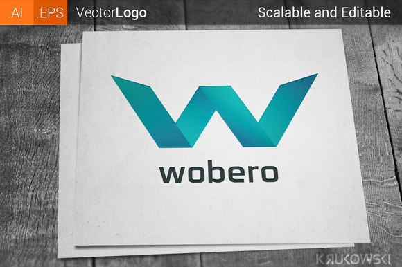 Letter W Company Logo