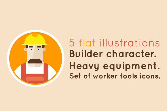 Builder Character Set Icons