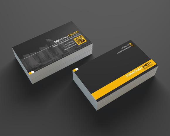 Modern Business Card Template SE335