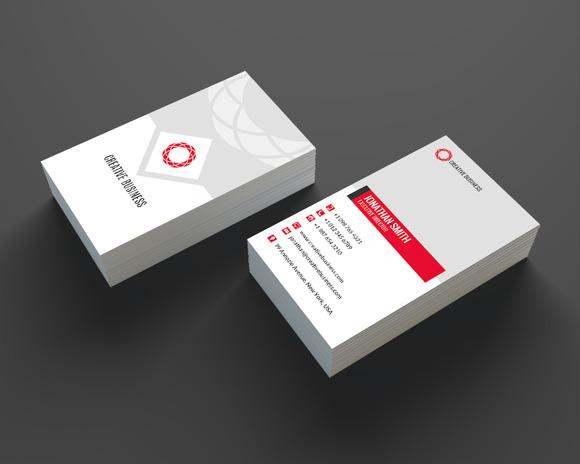 Modern Business Card Template SE336
