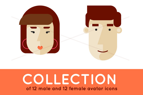 Avatars Male And Female