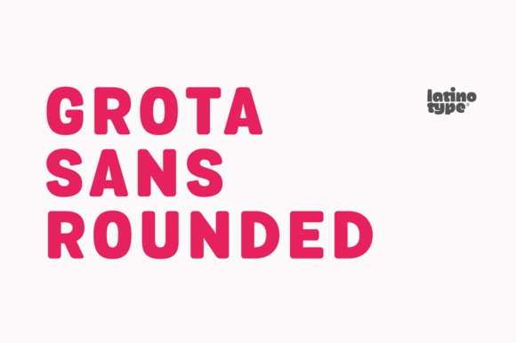 Grota Sans Rounded Family 88% Off