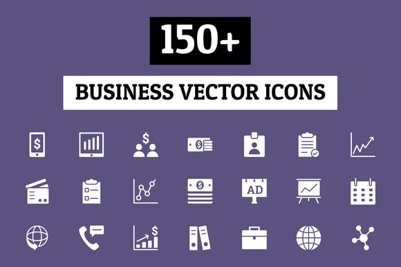 150 Business Vector Icons
