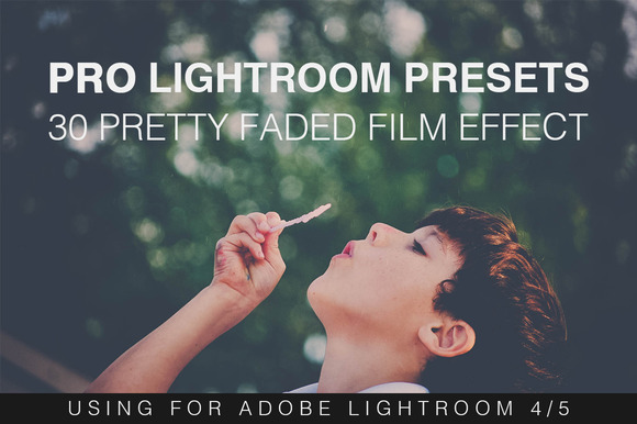 30 Faded Film Lightroom Presets