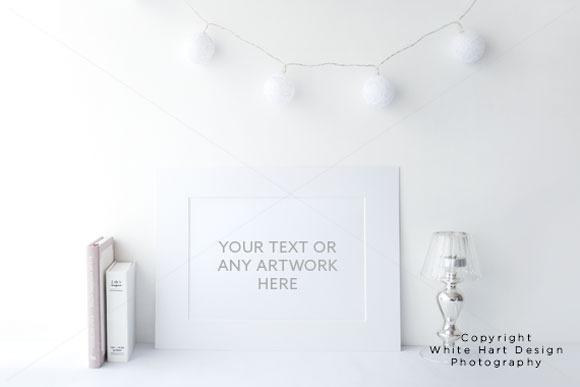 Styled White Frame 2 High Res Jpeg