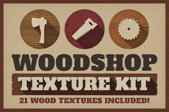 Woodshop Texture Kit