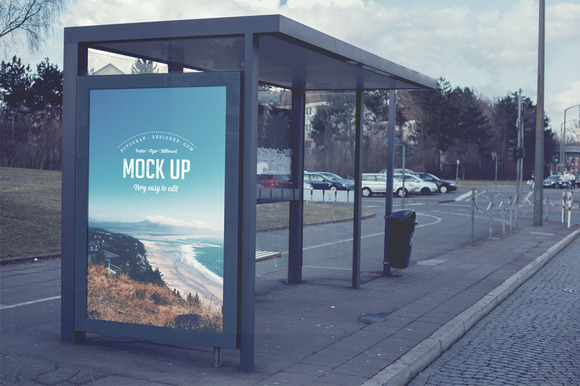Billboard Realistic Mock Up