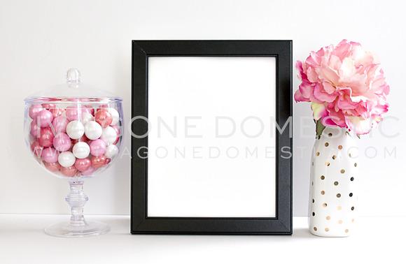 Styled Stock Photo Frame Art Print
