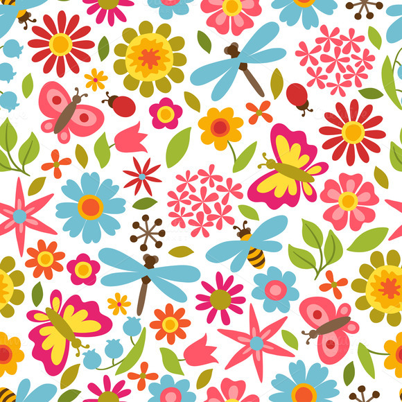 Patterns With Beautiful Flowers