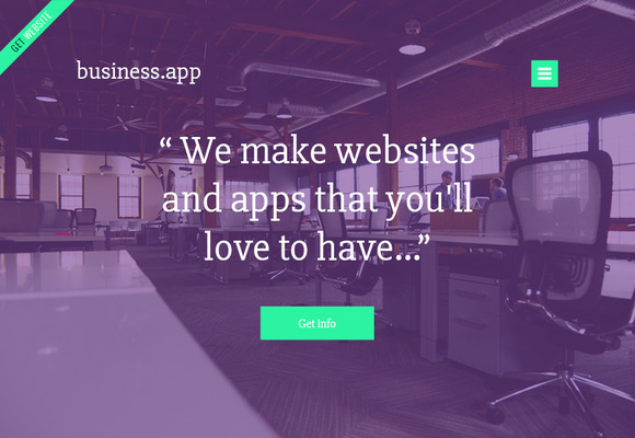 Business.app PSD Template