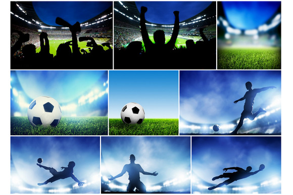 Soccer Football Images Bundle