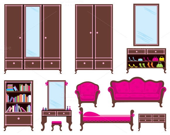 Set Of Furniture