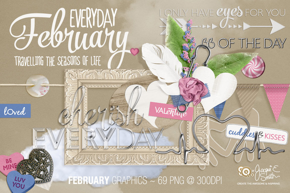 Everyday February Graphics