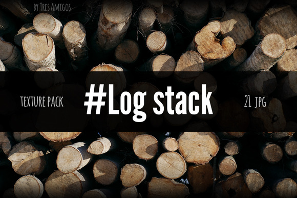 Log Stack Texture Pack