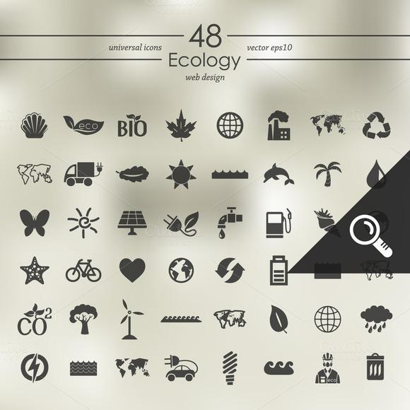 48 ECOLOGY Icons