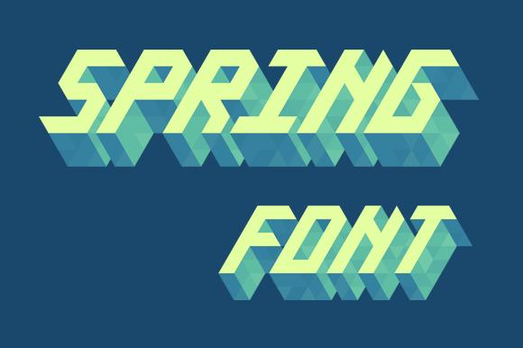 Isometric Alphabet Spring
