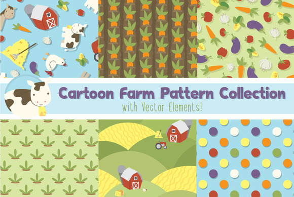 Cartoon Farm Print Pack