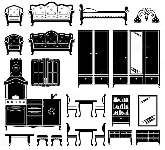 Images Of Furniture In Black