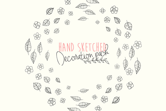 Hand Sketched Vector Pack